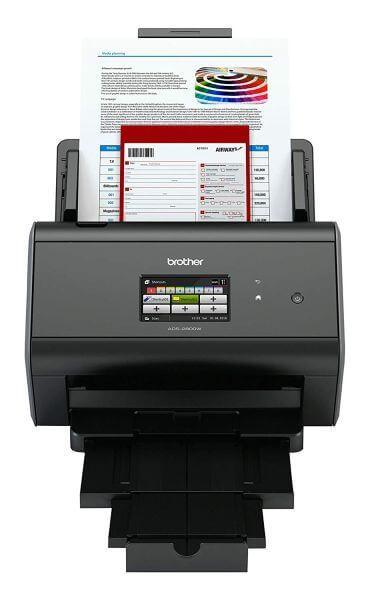 Image of Brother ADS-2800W duplex vezeték nélküli hálózati dokumentum szkenner