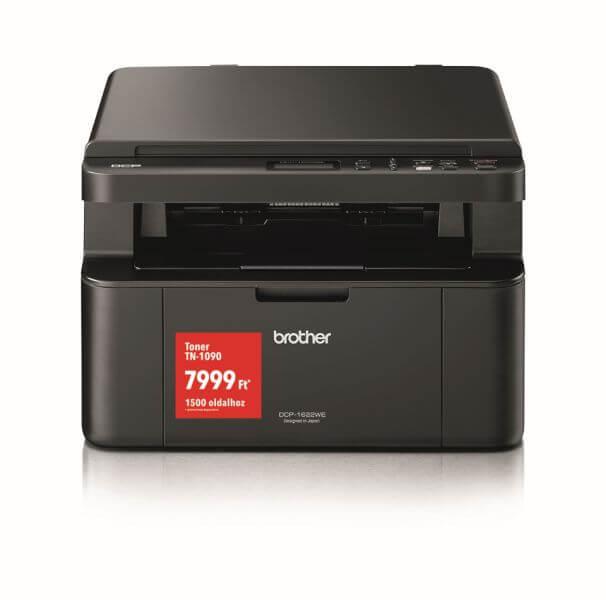 Image of Brother DCP-1622WE vezeték nélküli fekete-fehér multifunkciós lézer nyomtató