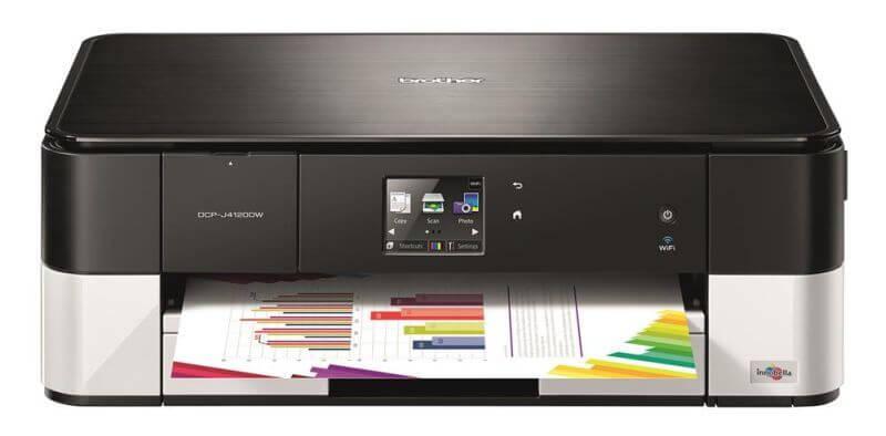 Brother DCP-J4120DW multifunkciós tintasugaras nyomtató csomag (nyomtató, induló patronokkal + 1 extra patron + USB kábel)
