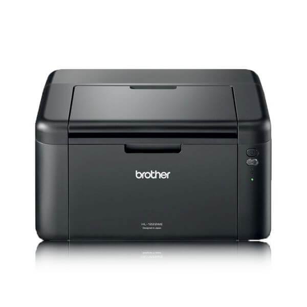 Image of Brother HL-1222WE nyomtató csomag (nyomtató, induló tonerrel + 1 extra fekete toner)