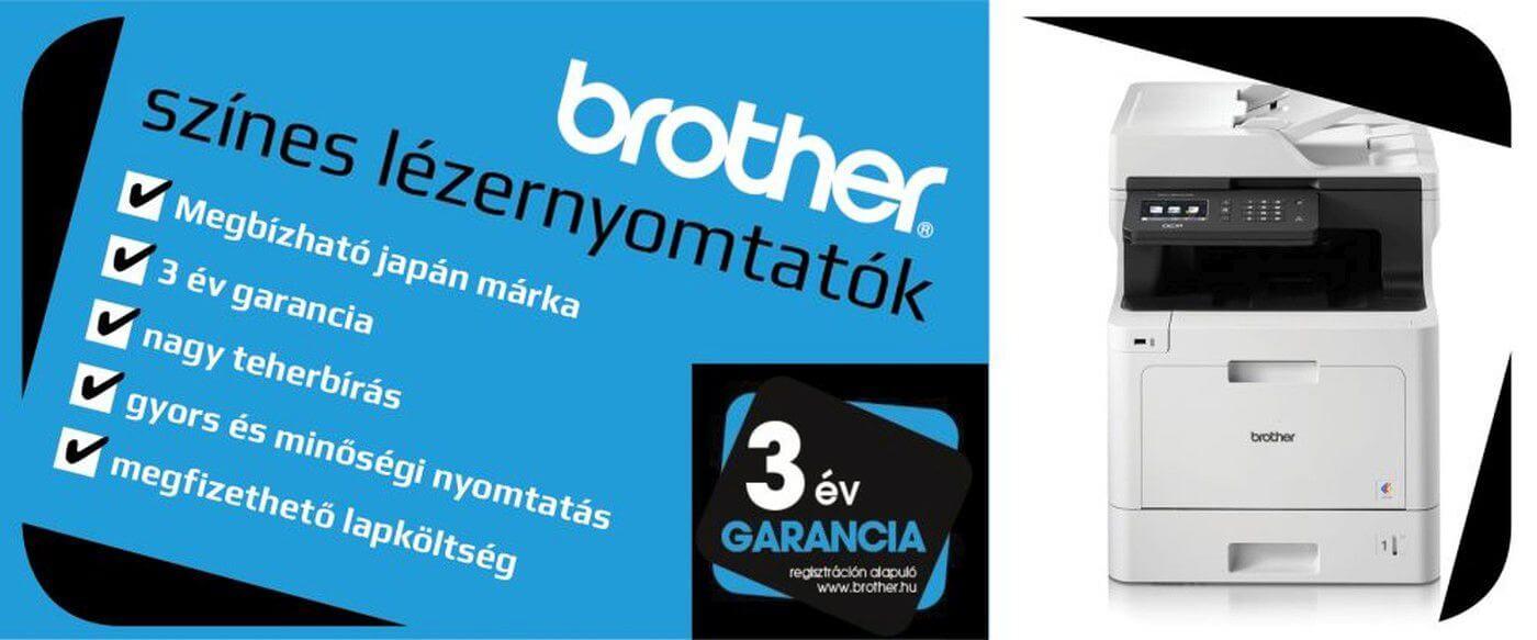Brother színes lézernyomtatók
