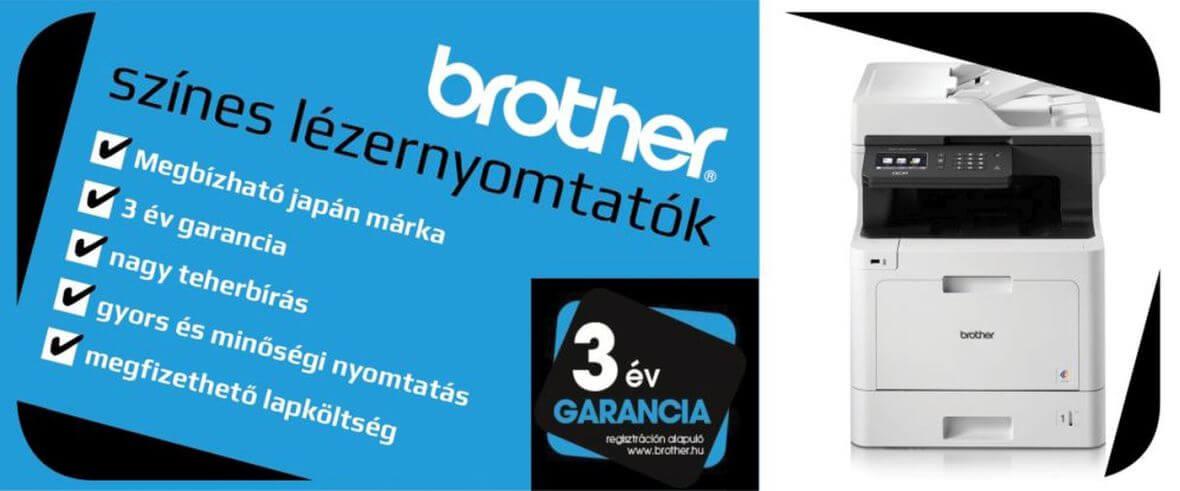 Brother színes nyomtatók