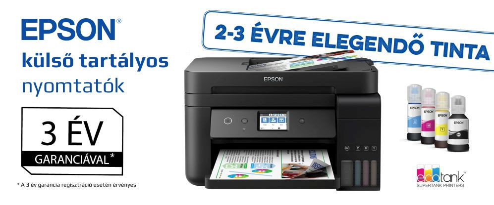 Epson ECOTANK nyomtatók