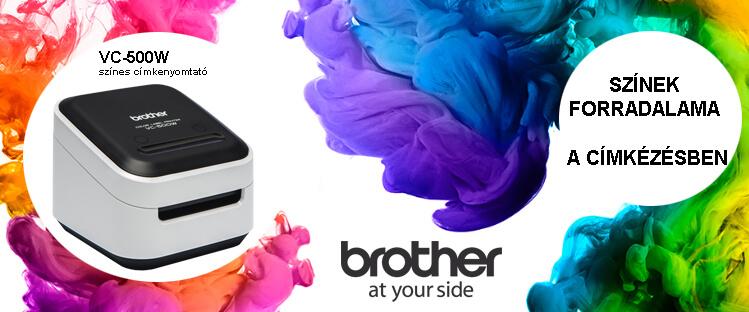 Brother VC-500W címkenyomtató